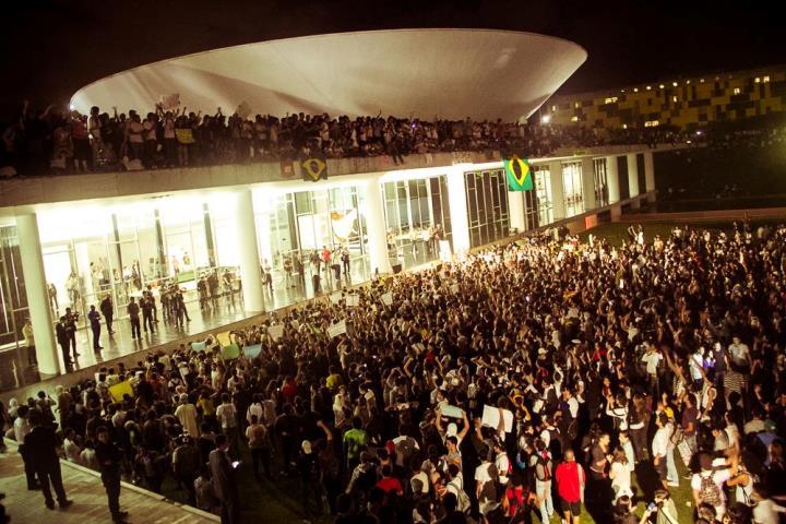 Multidão vai ocupar Brasília contra a reforma da Previdência dia 24