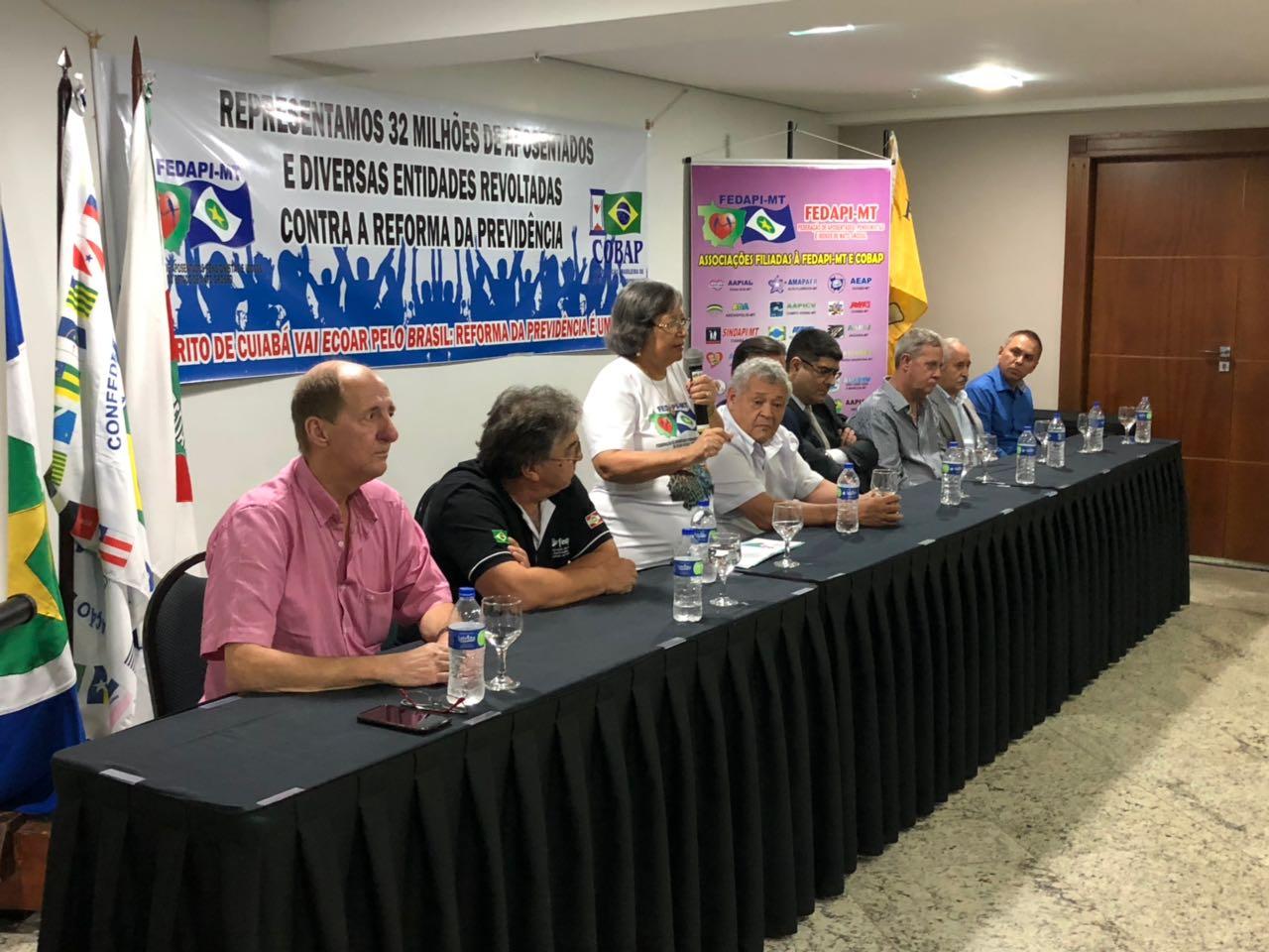Temos agora o Brasil dentro do Mato Grosso, diz Adelfina na abertura do Encontro Nacional de Dirigentes