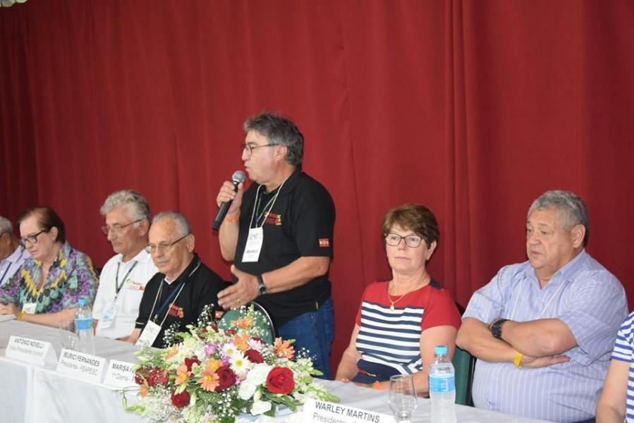 Abertura do Encontro de encerramento de ano da FEAPESC conta com 150 inscritos