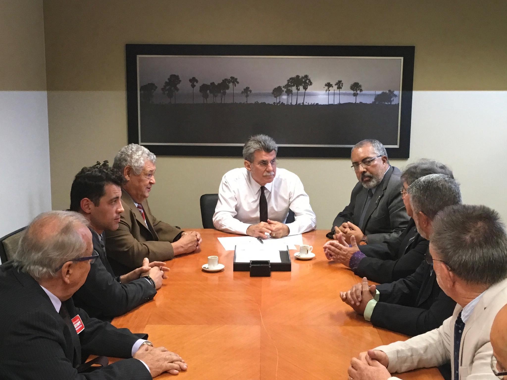COBAP reivindica apoio de Jucá em projeto da desaposentação