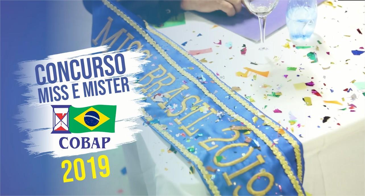 TBT: Relembre o concurso Miss e Mister COBAP 2019 e outros momentos
