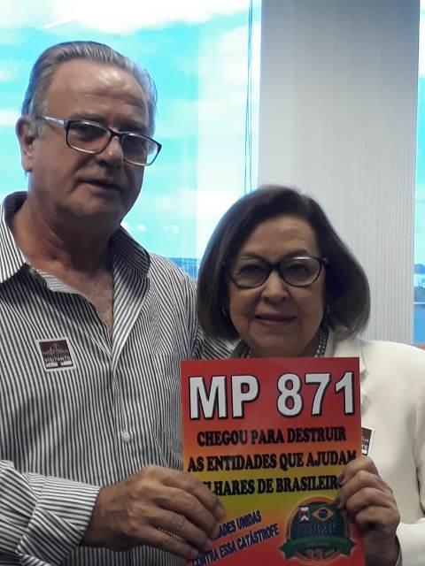 Conselheiro alerta sobre consequências da MP 871 em reunião do CNDI