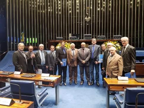 Paim enaltece trabalho da COBAP junto a senadores