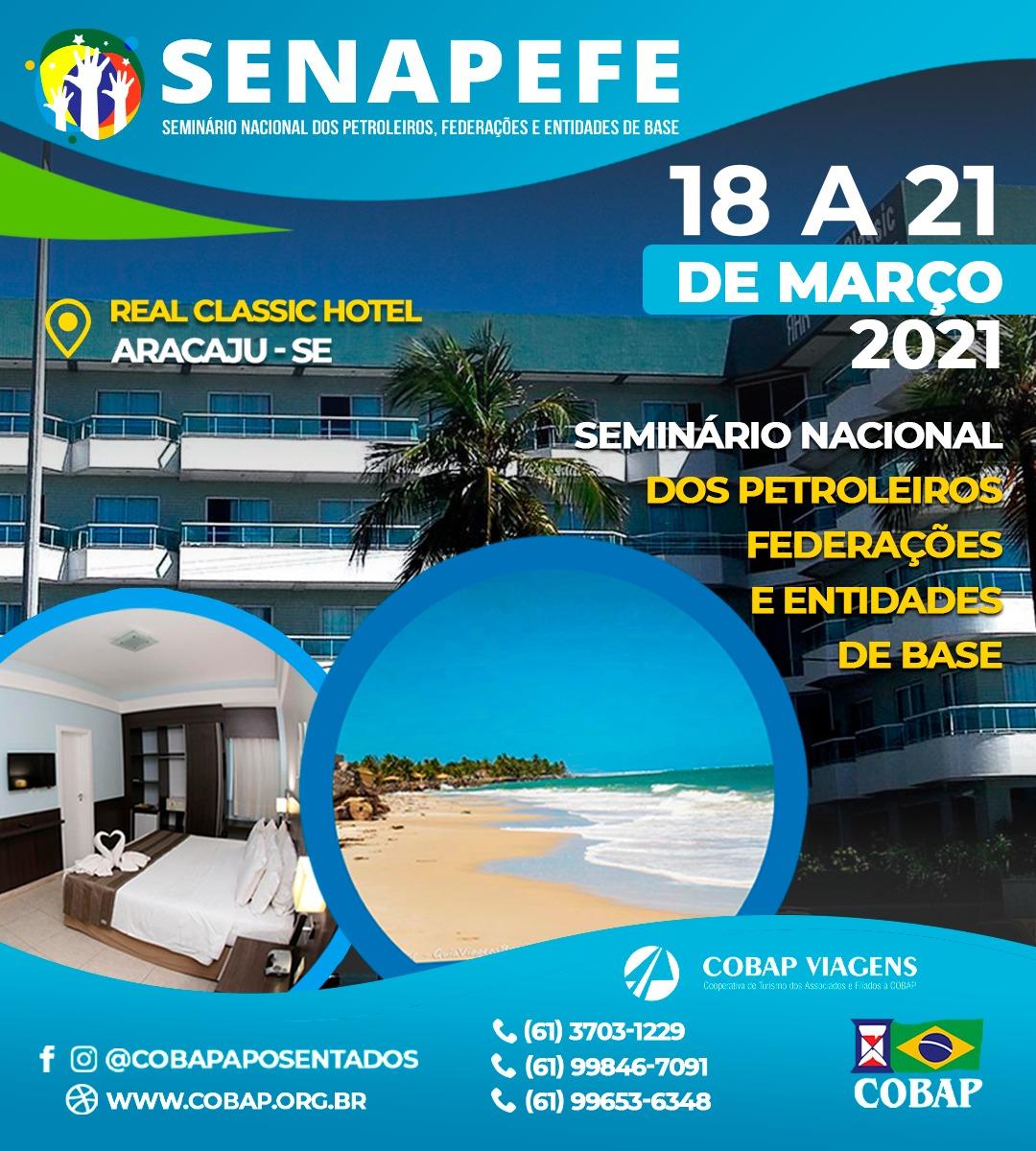 Seminário em Aracaju (SE) tem nova data: 18 a 21 de março de 2021