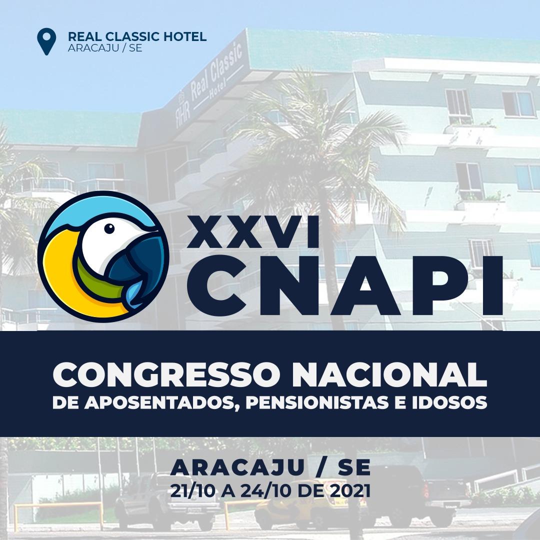 Inscrições abertas para o XXVI CNAPI