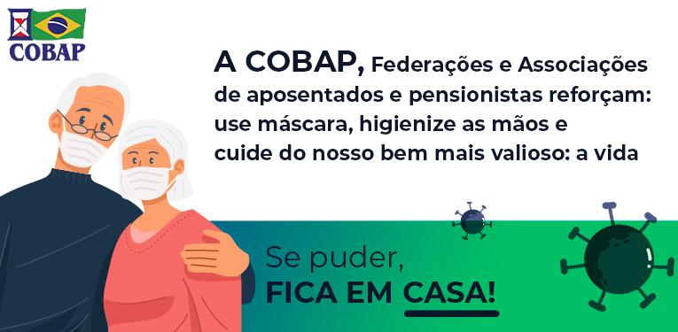 COBAP, Federações e Associações reforçam para os cuidados na prevenção da covid-19