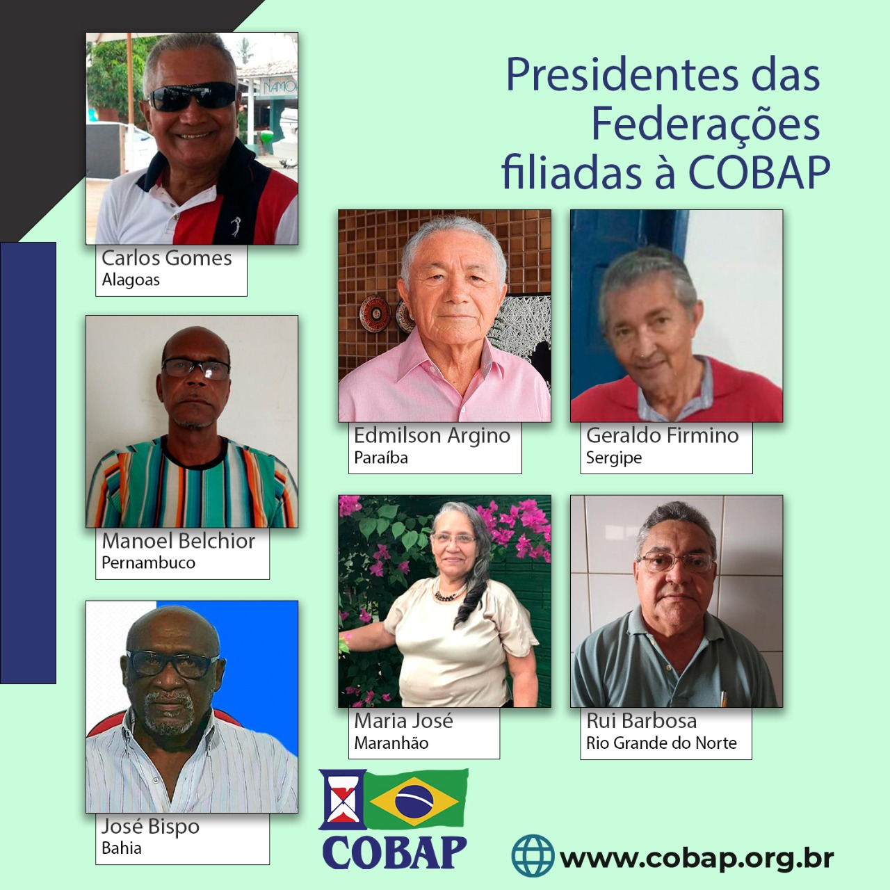 Presidentes das federações pautam principais reivindicações da COBAP